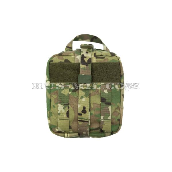 First-aid molle big pouch multicam pattern