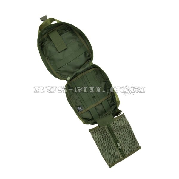 First-aid molle big pouch olive open