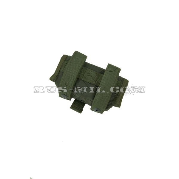 PP-10 molle pouch olive back