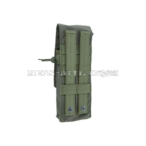 SAIGA-12 molle pouch for 8 rounds mag olive back