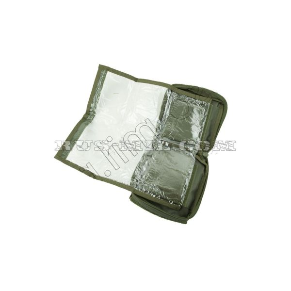 Tablet molle pouch olive map