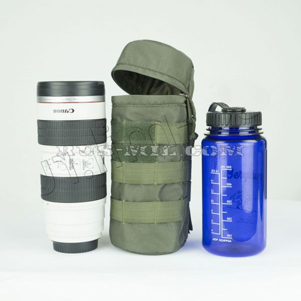 Universal bottle molle pouch set
