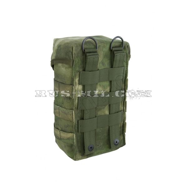 PKM 2 tape 100 rounds molle pouch a-tacs fg back