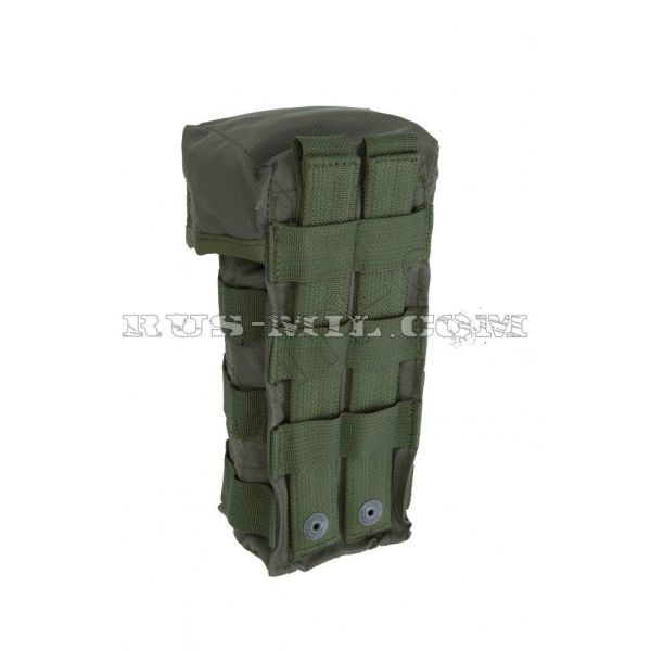 Аk 2 molle silent pouch olive back