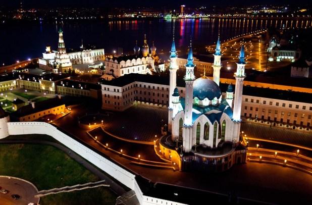 مسجد قول شريف في تتارستان