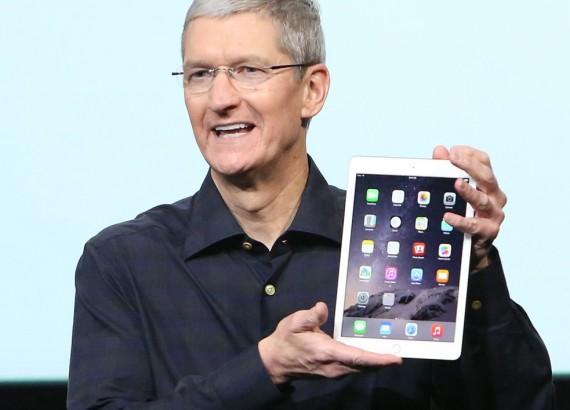Выручка Apple от продажи гаджетов за последний квартал возросла