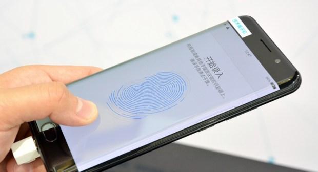 Oppo запатентовала отпечаток пальцев в дисплее