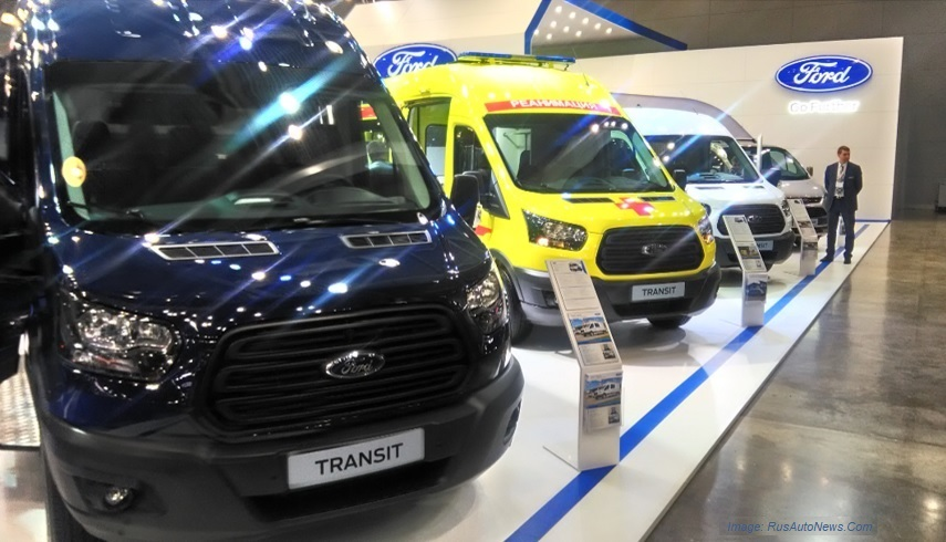 Russian LCV market - Ford Transit - JV with Ford