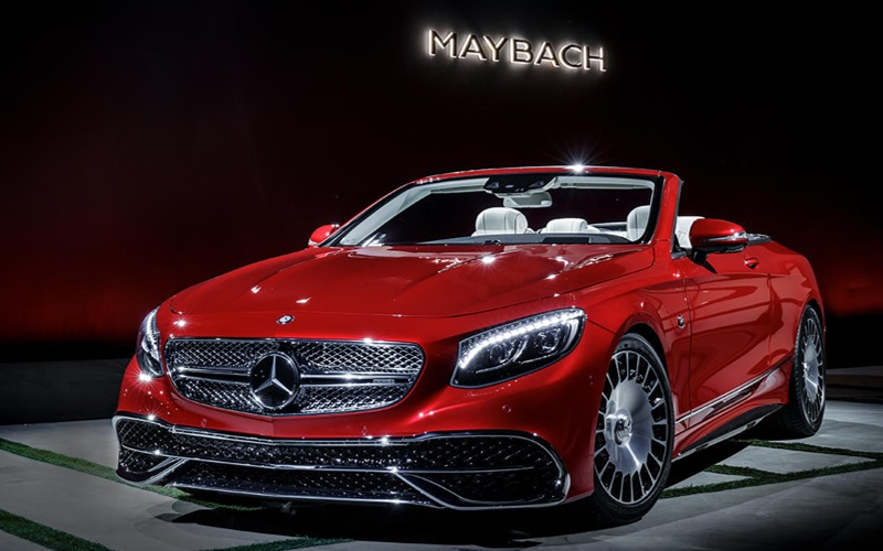 Mercedes Maybach S-65 Cabriolet - Russian luxury cars
