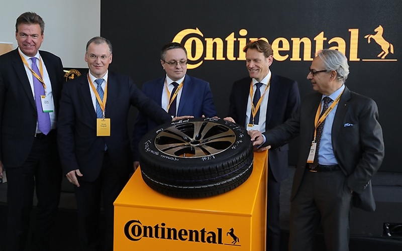 Continental tire plant in Kaluga - 10 millionth tire