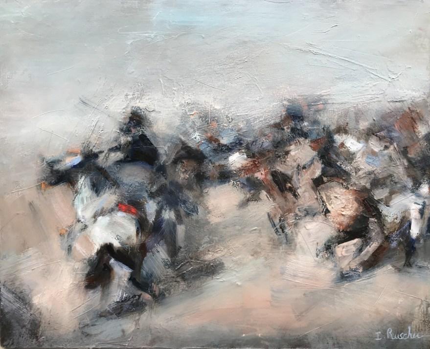 Art contemporain, sensualisme, peinture à l'huile, Arbre, Oil Painting, Contemporary painting, #contemporaryart