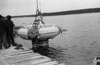 Подводный аппарат ОСА-3-600