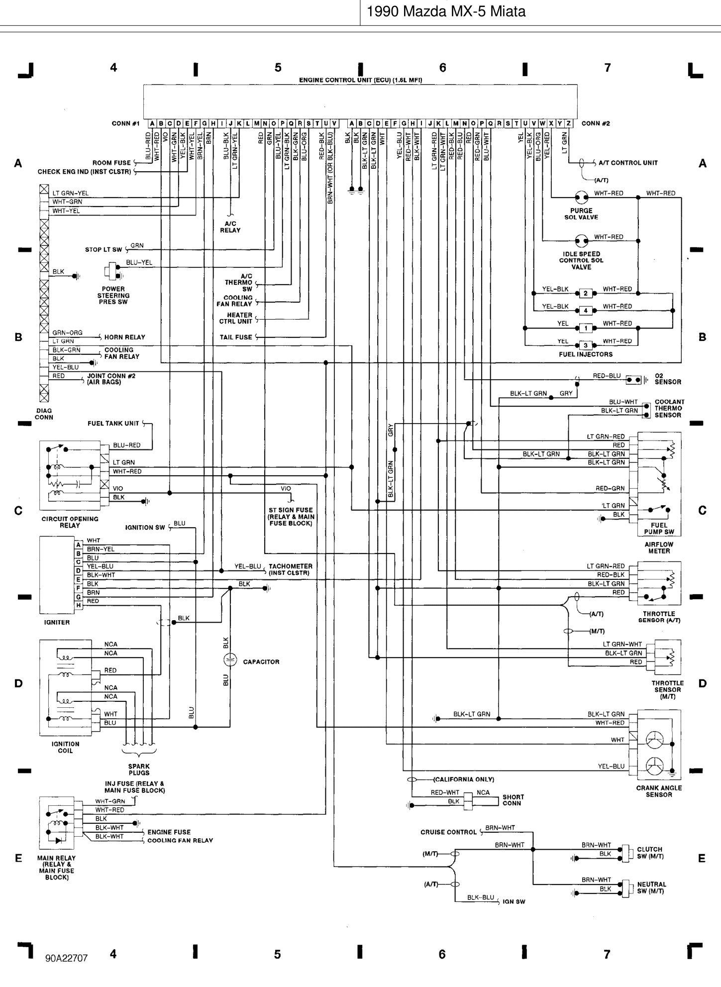 Diagram Mazda B Wiring Diagram Full Version Hd