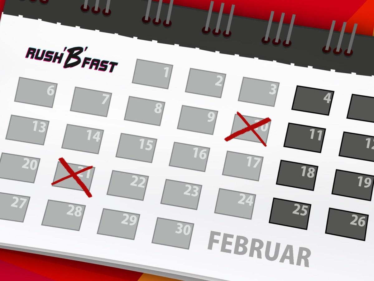 rushBfast - Kalender - Februar