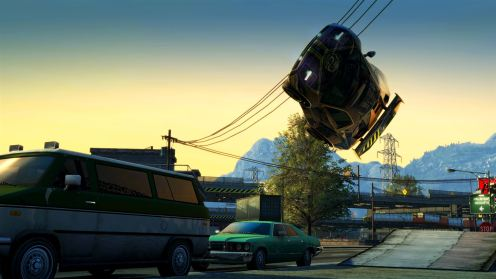 Burnout Paradise: Remastered - Roll