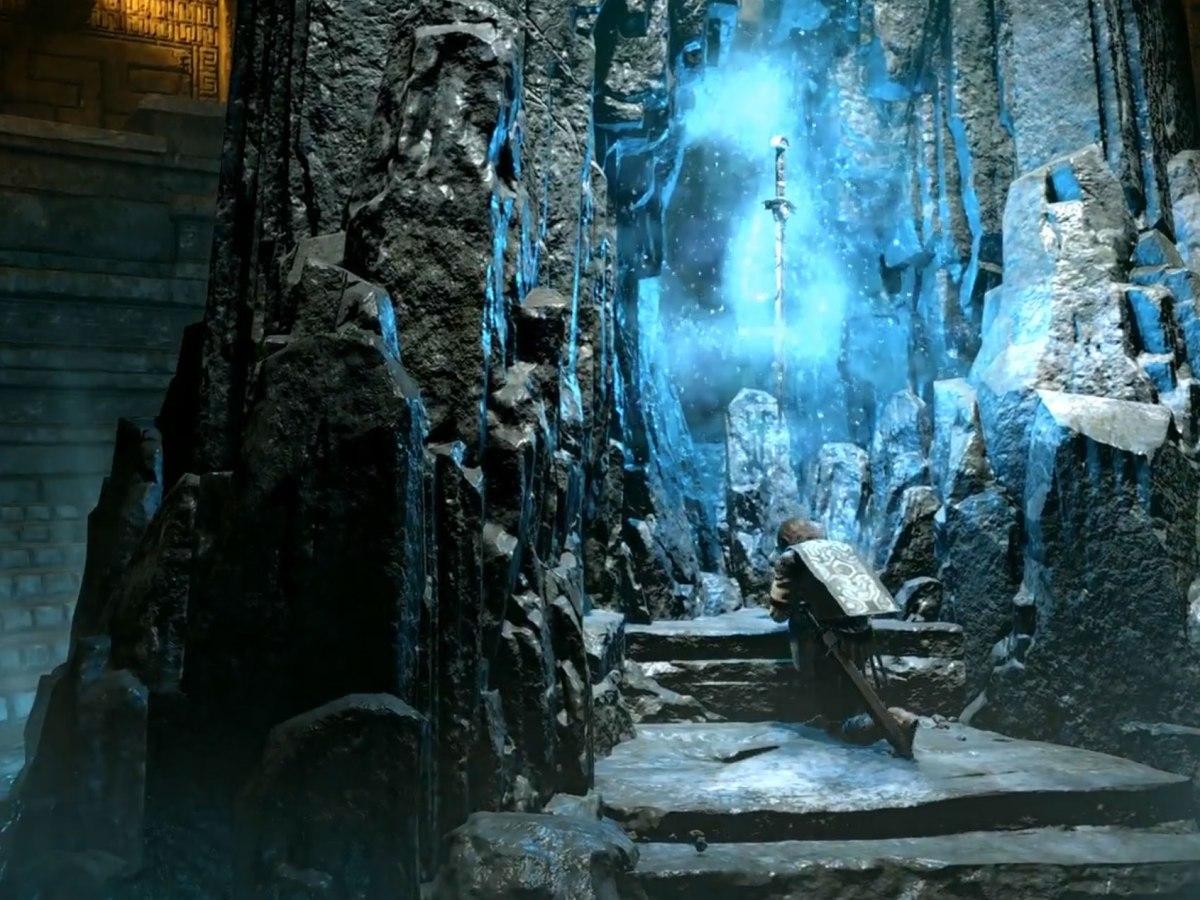 Shadow of the Colossus: Schwert des Dormin-Schrein