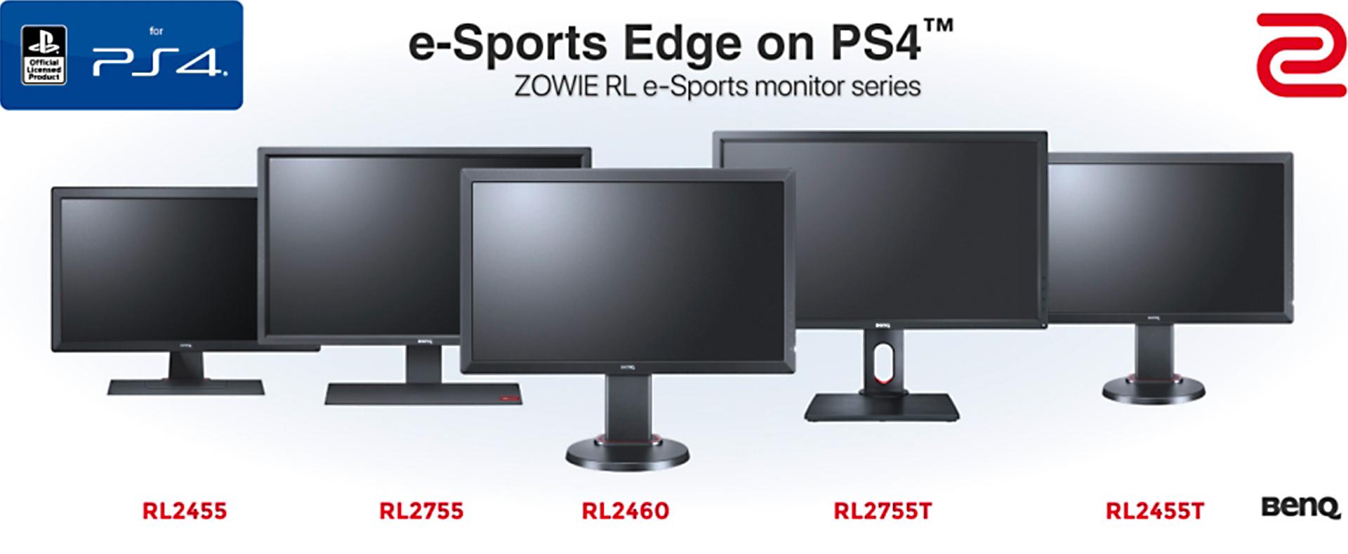 Zowie/Benq - RL e-Sports monitor series