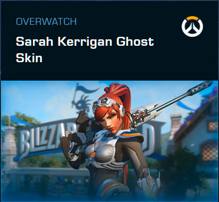 Overwatch - Sarah Kerrigan Ghost Skin für Widowmaker