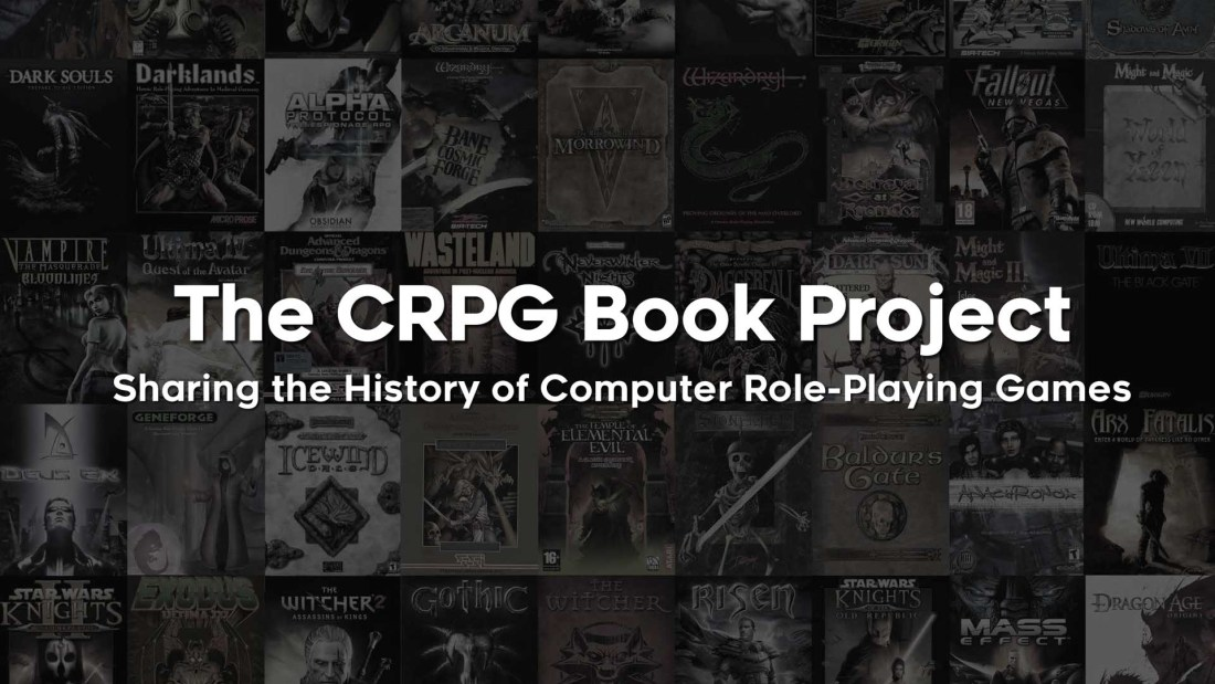 Buchcover: The CRPG Book Project