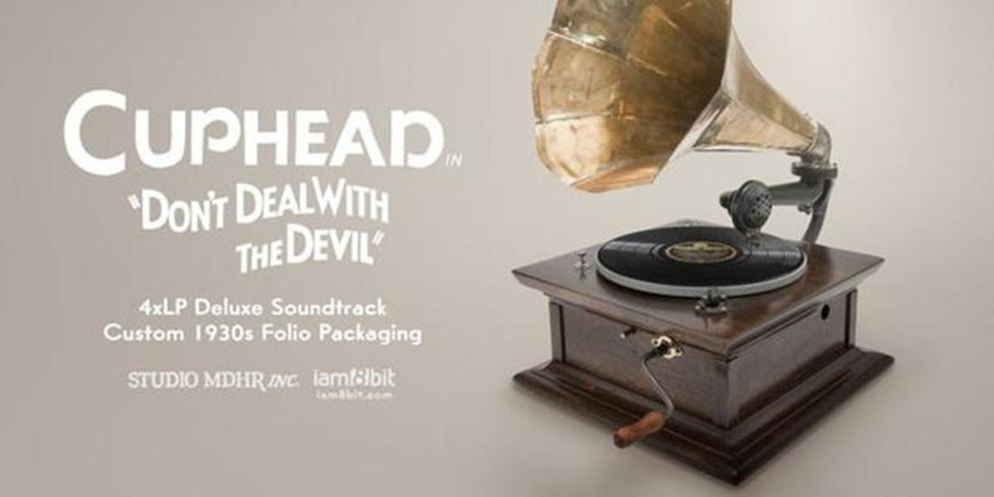 Cuphead Viny Soundtrack auf Grammophon