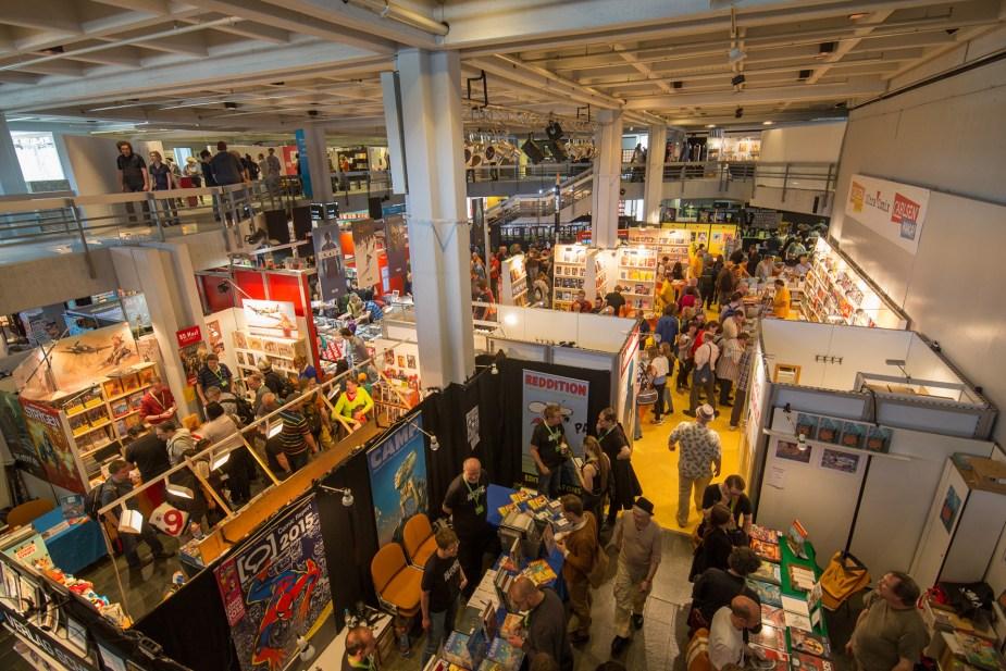 Internationaler Comic-Salon Erlangen – Foto: Georg Pöhlein, 2016