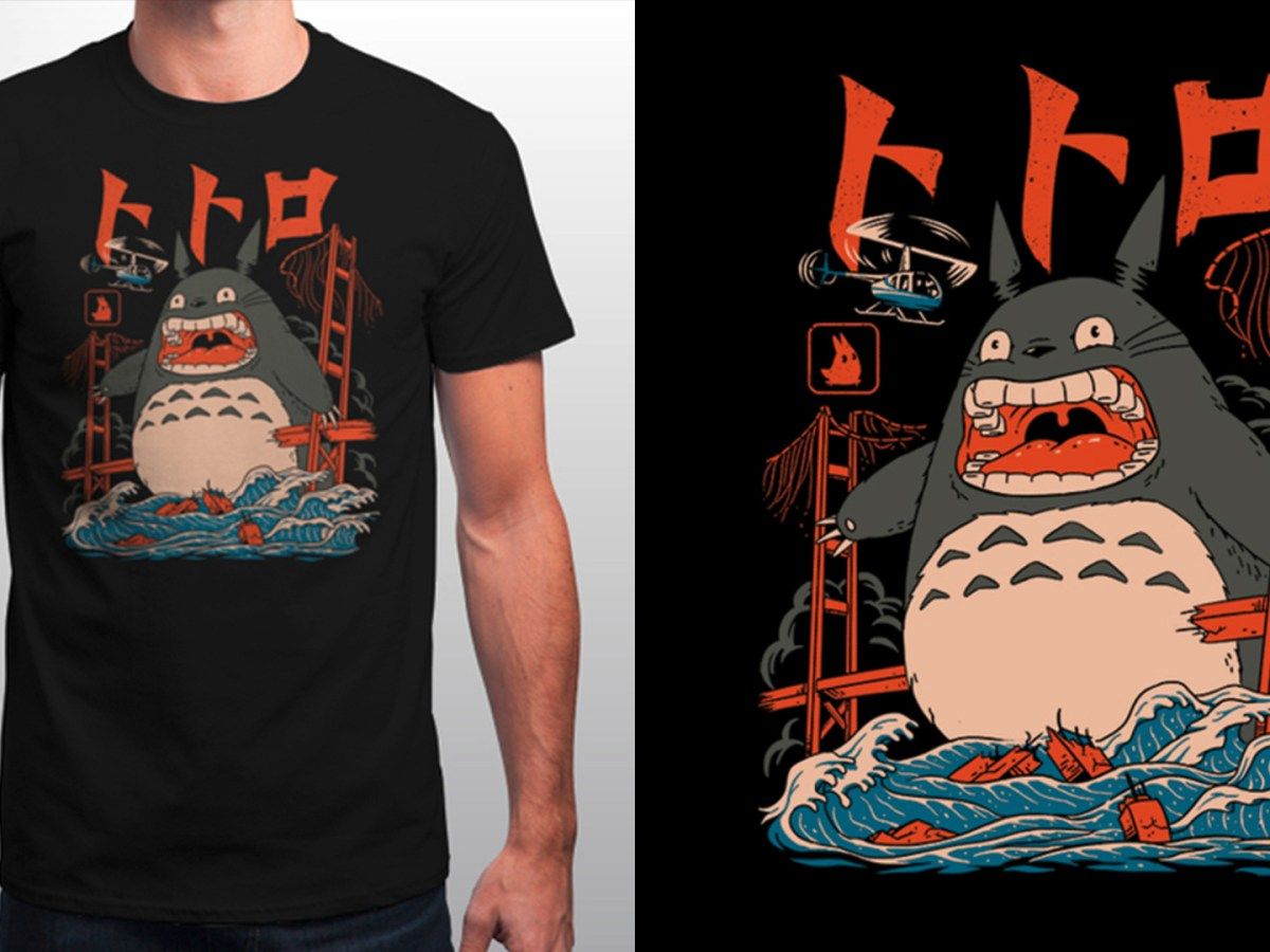 Quelle: Qwertee - THE NEIGHBOR'S ATTACK by vptrinidad