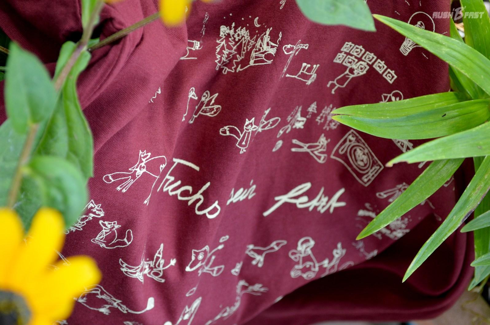 """Käptn Peng & Die Tentakel von Delphi - T-Shirt """"fuchs sein fetzt""""."""