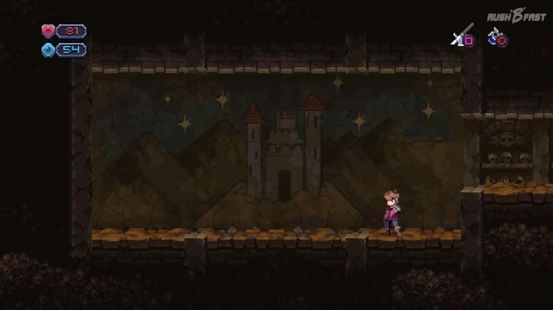 Chasm - Anzahl der Sterne im Hintergrundbild (Seed 2)