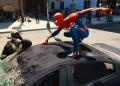 Marvel's Spider-Man - Spidey stoppt einen Trupp Verbrecher, die mit ihren Fahrzeugen durch New York rasen.