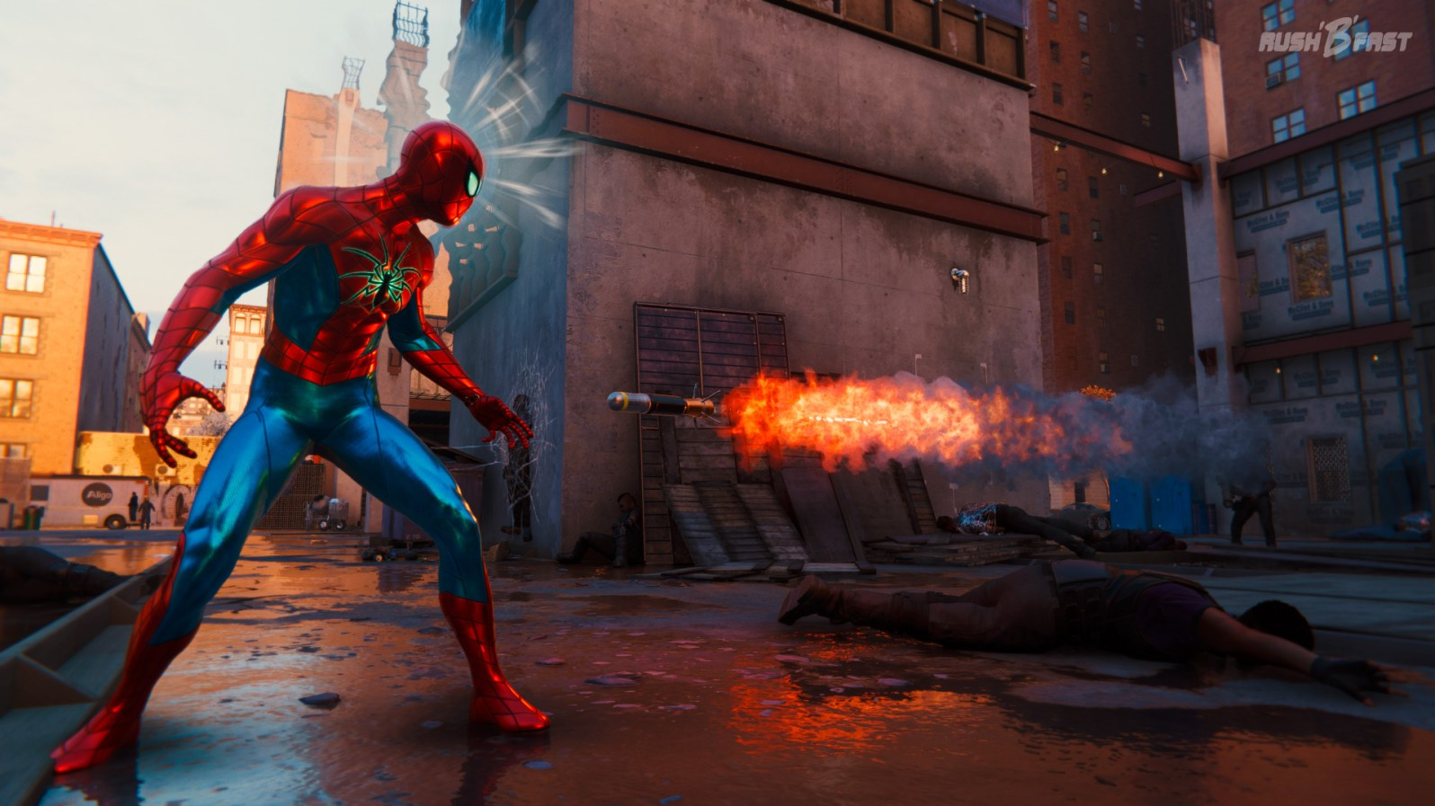 Marvel's-Spider-Man - Raketen Easter Egg