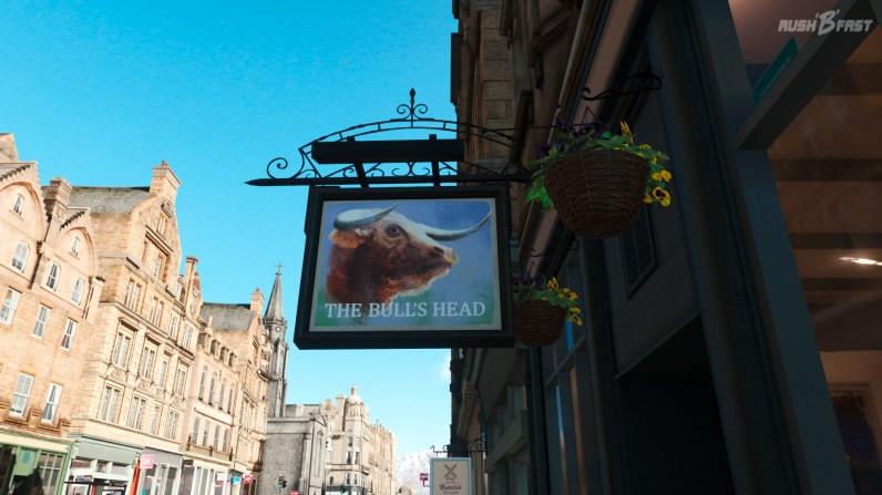 Forza Horizon 4 - The Bull's Head Shop in Edinburgh