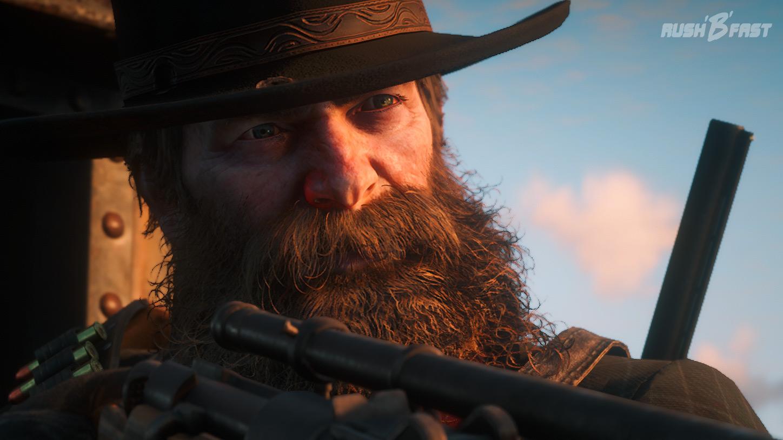 Red Dead Redemption 2: Wer sich nicht regelmäßig die Mühe macht sich zu rasieren, der schaut bald wie ein alter Waldschrat aus.