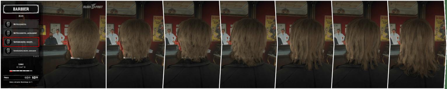 Red Dead Redemption 2: Beim Frisör können wir unsere lang gezüchteten Haare wieder in Form bringen lassen.