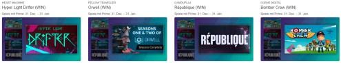Quelle: Twitch - Kostenlose Spiele mit Prime 31. Dez. – 31. Jan. - Hyper Light Drifter, Orwell, République, Bomber Crew