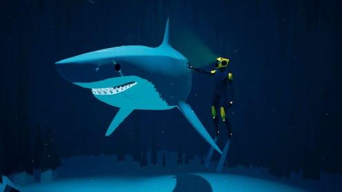 ABZÛ - Tief am Meeresgrund treffen wir auf den gefährlichsten Räuber der Meere.
