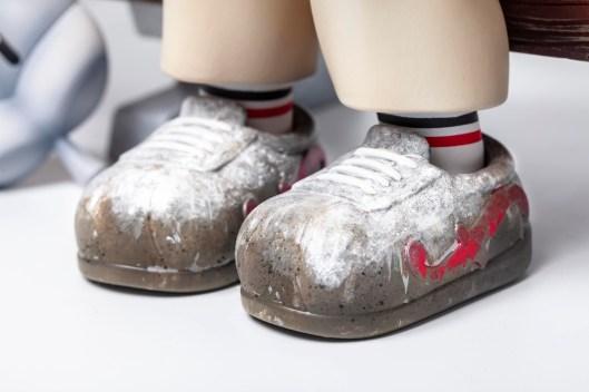Quelle: doublefools.blogspot.com - SUPER RUN Figur - Schuhe