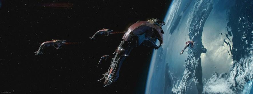 Quelle: artstation.com/pablodominguez - Pablo Dominguez - Space Ships