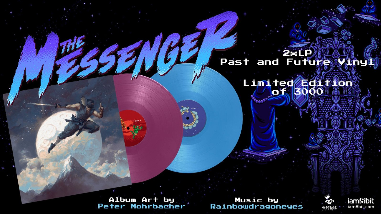 Quelle: store.iam8bit.com - The Messenger