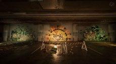 Tom Clancys The Division 2 - In einer Tiefgarage gibt es ein Grafitti, welches die Geschichte von The Division erzählt.