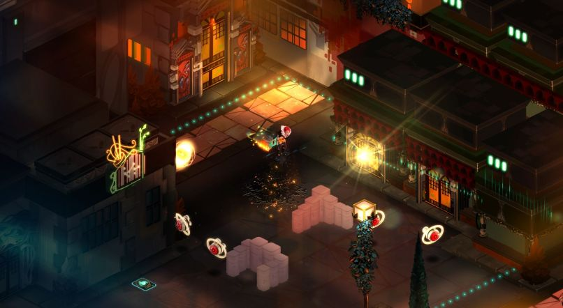 Quelle: Supergiant Games - Transistor - Chinatown