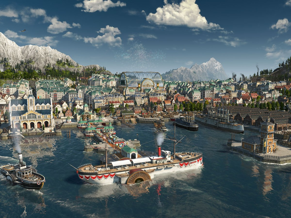 Anno 1800 - Zur Eröffnung der Weltausstellung ist in der anmutigen Metropole richtig was los.