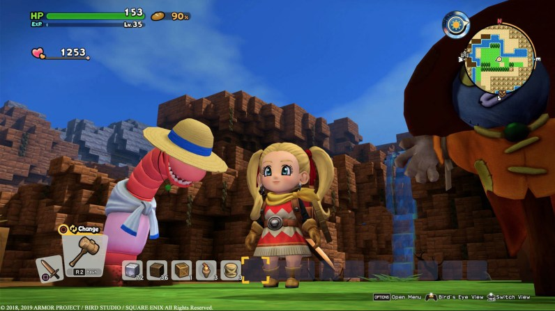 Quelle: Square Enix - Dragon Quest Builders 2 - Regenwurm