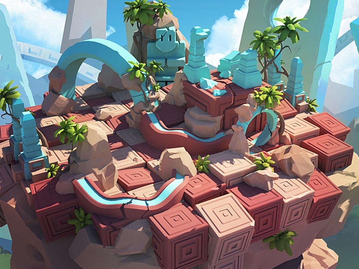 Quelle: tohad.artstation.com - Sylvain Sarrailh - De-formers level design