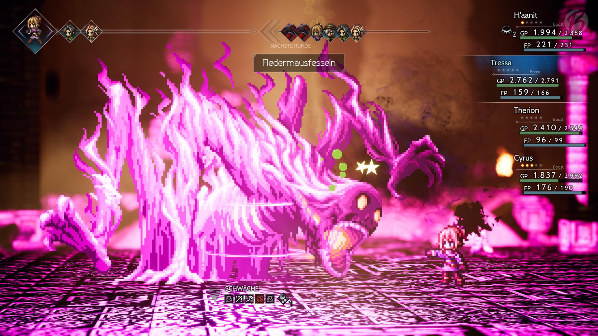 Pink beruhigt die Seele: Dieses geniale Bossdesign könnte auch aus Dark Souls stammen.