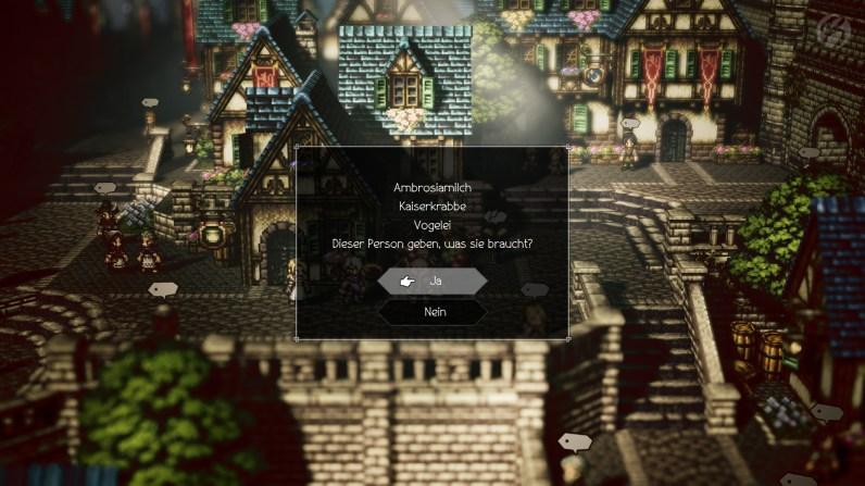 Nebenquests gibt es im Reich von Orsterra zu hauf, für manche braucht man mehrere Spielstunden, um die richtigen Zutaten oder Bedingungen zu finden.
