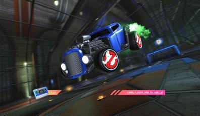 Quelle: Psyonix - Rocket League - Radical Summer - Ghostbusters Räder
