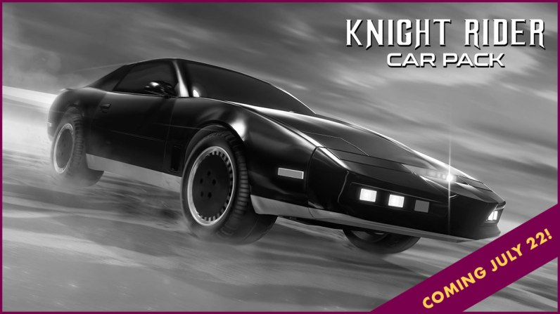 Quelle: Psyonix - Rocket League - Radical Summer - Knight Rider Car Pack
