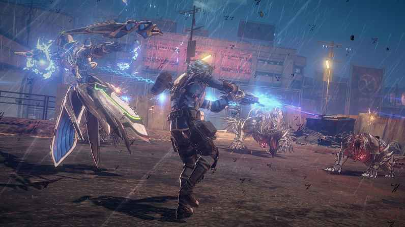 Quelle: PlatinumGames - ASTRAL CHAIN - Combo