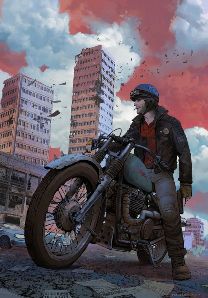 Quelle: neisbeis.artstation.com - Ignacio Bazan-Lazcano - Abandoned Town