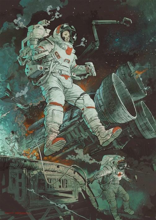 Quelle: neisbeis.artstation.com - Ignacio Bazan-Lazcano - Falling Space